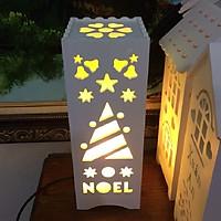 Đèn handemade khắc tên - Qùa tặng noel ý nghĩa