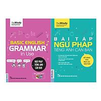 Combo Trọn Bộ Luyện Ngữ Pháp Tiếng Anh Phiên Bản ChiBi ( Basic English Gramma In Use: Ngữ Pháp Tiếng Anh Căn Bản + Bài Tập Ngữ Pháp Tiếng Anh Căn Bản ) tặng kèm bookmark