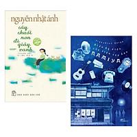 Combo 2 Cuốn Truyện Hay: Cây Chuối Non Đi Giày Xanh +  Điều Kỳ Diệu Của Tiệm Tạp Hóa ( Tặng Kèm Bookmark GreenLife)