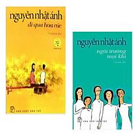 Combo 2 Cuốn Thiên Truyện Tiêu Biểu Của Nguyễn Nhật Ánh: Đi Qua Hoa Cúc + Ngôi Trường Mọi Khi (Tặng Kèm Bookmark Green Life)