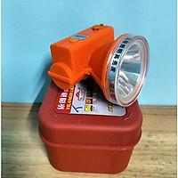 đèn pin đội đầu, đèn đội led siêu sáng 5201, chống nước, 3 chế độ chiếu sáng.