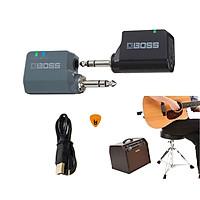 Boss WL-20L Bộ Thu Phát Tín Hiệu Không Dây Wireless System (Pin sạc, Dùng cho Đàn Guitar và mọi loại Nhạc Cụ khác WL20L) Hàng Chính Hãng - Kèm Móng Gẩy DreamMaker