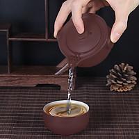 Bộ ấm chén độc ẩm tử sa trà đạo
