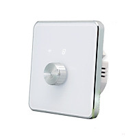 Công Tắc Tăng Giảm Độ Sáng Đèn Dimmer Hình Vuông Wifi Tuya SHP-DM2