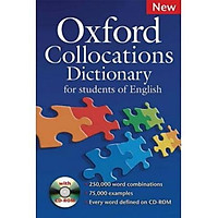 Oxford Collocations Dictionary Pack (Dictionary and CD-ROM)