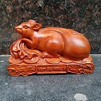 Tượng con chuột gỗ hương Tượng con chuột làm bằng gỗ hương Tượng con chuột phong thủy Tượng con chuột vạn sự như ý Tượng con giáp phong thủy 12 con giáp
