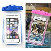 Bao Túi đựng điện thoại chống nước đi biển bể bơi Iphone5/6/6Plus