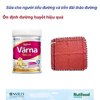 Sữa Bột Värna Diabetes Lon 850g của Nutifood Thụy Điển - Dành cho người tiểu đường. Tặng kèm khăn mặt bông mềm mịn.