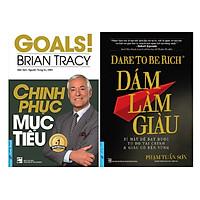 Combo 2 Cuốn Sách: Chinh Phục Mục Tiêu + Dám Làm Giàu