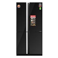 Tủ Lạnh Inverter Sharp SJ-FX688VG-BK (605L) - Hàng Chính Hãng + Tặng Bình Đun Siêu Tốc