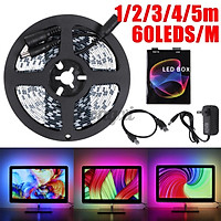 1/2/3/4/5m DIY Ambilight TV PC USB LED Strip HDTV Computer Monitor Backlight