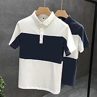 Áo polo nam, áo thun nam phối màu trẻ trung lịch sự phong cách hàn quốc