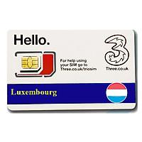 Sim Du lịch Luxembourg 4g tốc độ cao