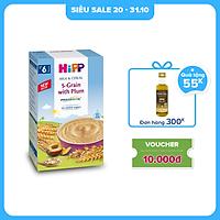 Bột ăn dặm dinh dưỡng Sữa, Ngũ cốc hoa quả tổng hợp - Mận Tây HiPP Organic 250g