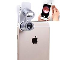 Mobile Phone Microscope Macro Lens 60X Optical Zoom Magnifier Micro Camera Universal Clip for iPhone Sumgung
