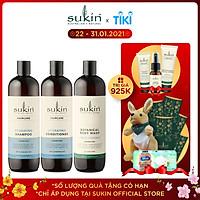Bộ Sản Phẩm Ẩm Tóc Sạch Da 1 Dầu Gội Dưỡng Ẩm Hydrating Shampoo 500ML & 1 Dầu Xả Dưỡng Ẩm Hydrating Conditioner 500ML & 1 Sữa Tắm Body Wash Lime&Coconut 500ML