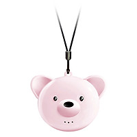 Portable Air Purifier Mini Small Bear Negative Oxygen Ion Purifier Eliminate Formaldehyde To Prevent Secondhand Smoke