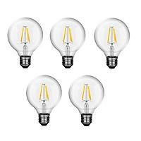 Bộ 5 bóng đèn Led Edison G80 6W đui E27.