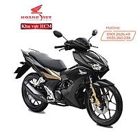 Xe máy Honda Winner X - 2021 - Phiên Bản Đen Mờ - Phanh ABS - Đen Vàng Đồng