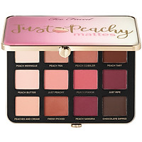Bảng Phấn Mắt Too Faced Just Peachy Velvet Mattes Eyeshadow Palette Peaches & Cream Collection