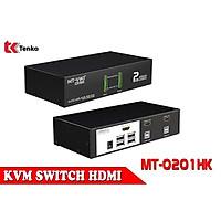 Bộ gộp KVM HDMI 2 Cổng chính hãng MT-VIKI MT-0201HK
