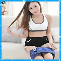 Đai massage giảm mỡ bụng X5- xanh - Hàng Chất Lượng