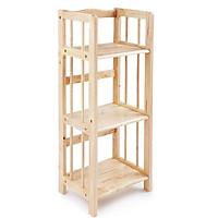 Kệ sách gỗ 3 tầng cao su ( 40CM) màu TN