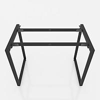 Chân bàn làm việc NVCN007 sắt hộp 20x40 lắp ráp kích thước 100 x 60 x 75 (cm)