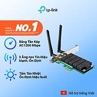 Bộ Chuyển Đổi Wifi Không Dây TP-Link Archer T4E PCI Express AC1200 - Hàng Chính Hãng