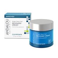 Kem Dưỡng Da Ban Đêm Cho Da Dầu Andalou Naturals Argan Stem Cell Recovery Cream 50g