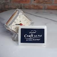 Hộp Mực Dấu Craft Ink Pad - Màu Xanh Dương Đậm