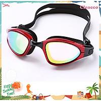 Kính bơi nam Cleacco tráng gương, chống tia UV tặng Bịt tai silicone - Hàng Chính Hãng