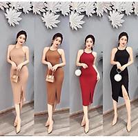 Váy body 2 dây cổ yếm thời trang XIXO - DAM0029