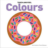 Sách: Touch and Feel Board Book Colours