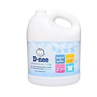 Dung Dịch Giặt Quần Áo Cho Bé D-Nee - Chai 3000ml (Trắng) Dành cho bé từ 02 tuổi trở lên