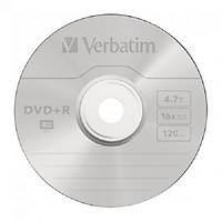 Đĩa Verbatim DVD+R 4.7GB 16X 10psc - Hàng chính hãng