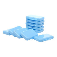 10PCS Teeth Wax Kit Pain Relief for Orthodontic Braces Wearers 1 Box of 5 Strips Dental Wax for Oral Care