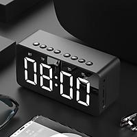Loa Bluetooth Kiêm Đồng Hồ Báo Thức Và Gương Soi Tiện Lợi BT 506 (giao màu ngẫu nhiên)