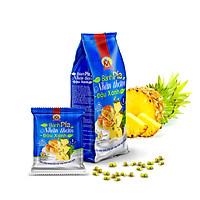 390g Bánh pía NHÂN THƠM chín ĐẬU xanh CHANH tươi, KHÔNG sầu riêng & CÓ trứng muối, Pia Cakes with NATURAL RIPE PINEAPLE