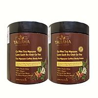 Combo 2 hộp Cà phê Tẩy da chết Tabaha 250ml từ Cà phê Tây Nguyên & Dầu dừa Bến Tre