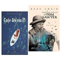 Combo 2 Cuốn Sách Văn Học Hay : Cuộc Đời Của Pi + Những Cuộc Phiêu Lưu Của Tom Sawyer - (Tặng Kèm Bookmark Thiết Kế AHA)