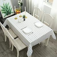 Khăn trải bàn nhựa PVC không thấm nước, khăn trai bàn có hoạ tiết đẹp phù hợp với mọi nhà