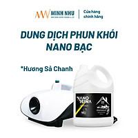 Can Nano Reiwa 5 lít hương Sả Chanh - dùng phun khói diệt khuẩn khử mùi ô tô, phòng ngủ, văn phòng, nhà hàng, khách sạn
