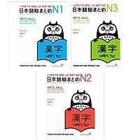 Combo Luyện Thi Năng Lực Nhật Ngữ - Hán tự: Luyện Thi Năng Lực Nhật Ngữ N1 + Luyện Thi Năng Lực Nhật Ngữ N2 + Luyện Thi Năng lực Nhật Ngữ N3 / Sách Luyện Hán Tự(Tăng Bookmark Happy life)