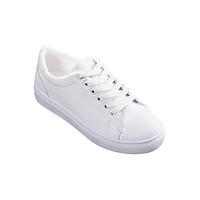 Giày Sneaker Nữ Thêu Mèo Dễ Thương Hapu