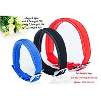 vòng cổ dề xanh đỏ đen cho chó mèo