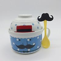 Bộ tô mì tiện lợi bằng sứ Ceramics Porcelain (Tặng kèm muỗng)
