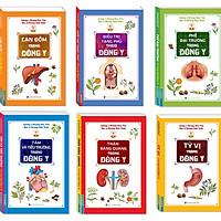 Sách - Combo Đông Y 6 cuốn ( Thận bàng quang,Phế đại trường,Can đởm,Tỳ vị,Tâm và tiểu trường,Điều trị tạng phủ)