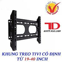 Khung treo tivi cao cấp cố định từ 19-40 inch CMT40