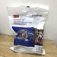 Mặt nạ phòng độc 3M 6100 bảo vệ hô hấp, size nhỏ, loại 2 phin lọc nhưng chưa gồm phin lọc
